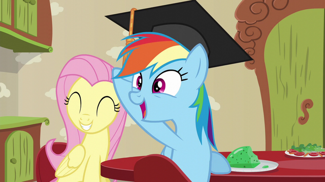 File:Rainbow Dash happy for Zephyr Breeze S6E11.png
