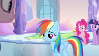 Rainbow Dash it didn't happen S3E12
