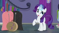 "Rarity ""ever since you convinced me"" S8E4"