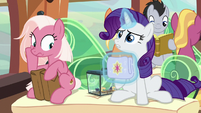 "Rarity ""now I'm behind!"" S9E26"