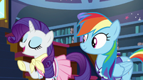 "Rarity ""we know all the same ponies"" S8E17"