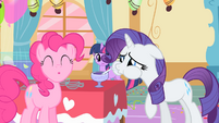 Rarity Pinkie Pie False Drink S1E25