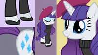 Rarity dressed French S2E9