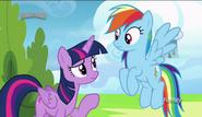 S06E24 Rozmowa Twilight i Rainbow