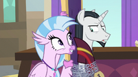 Silverstream appears behind Neighsay S8E26