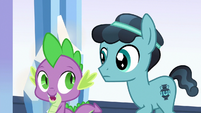 Spike --pretty soon, nopony will care-- S6E16