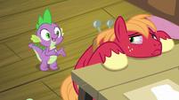 Spike -she won't need you to come- S8E10