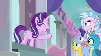 Starlight reminds students about Spell-venger Hunt S8E15