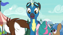 "Thunderlane ""she'll be mad if I'm late"" S7E21"