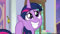 Twilight Sparkle reminiscing fondly S9E4