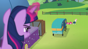 Twilight spying on Svengallop S5E24