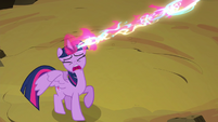Alicorn magic sucked away from Twilight S4E26