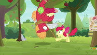 Apple Bloom catches Big Mac S9E10