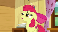 Apple Bloom sings --I guess as time-- S6E4