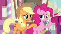 Applejack 'Why don't we just go see what Twilight's up to' S3E07