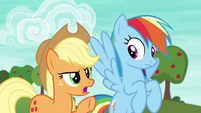 Applejack --get your heads in the game-- S6E18
