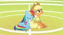 Applejack disappointed --nope-- S6E18