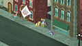 Coco Pommel's flyer fluttering in the wind S5E16.png
