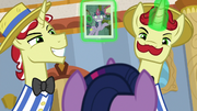 Flim and Flam blackmailing Twilight S8E16