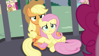 Fluttershy crying S4E26