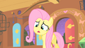 Fluttershy filled with strange creature S01E17.png