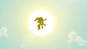 Fluttershy flying to the sun S2E22