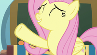 Fluttershy ready to begin cotillion S9E7