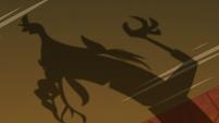 Grogar's shadow turns into Discord's shadow S9E24