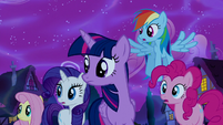 Mane Six hear Princess Luna S5E13