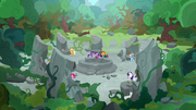 Mane Six reassemble at Temple of Ponhenge S7E25