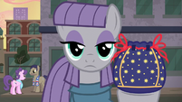 "Maud Pie with ""fire"" in her eyes S6E3"
