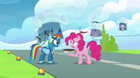 "Pinkie Pie ""I wanted to pre-celebrate"" S7E23"