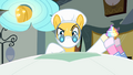 Pinkie Pie handing cupcake to surgeon pony S4E12.png