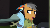 """Quibble """"shouldn't at least one of them stay behind"""" S6E13"""