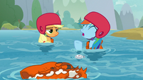 "Rainbow ""there goes our new speed record!"" S8E9"