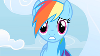 Rainbow Dash feeling the pressure S1E16