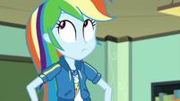 Rainbow Dash rolls her eyes at Twilight EGDS22