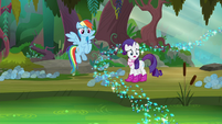 Rarity -wade through that- S8E17