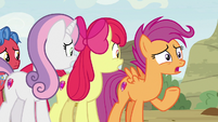 "Scootaloo ""just like you said we would!"" S9E22"