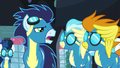 Soarin tells Misty Fly and Blaze to find Spitfire S5E15.png