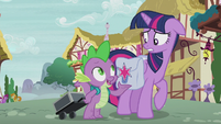 """Spike """"just really interested in your speech"""" S5E25"""