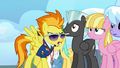 Spitfire walking past the pegasi S3E07.png