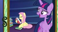 Twilight Sparkle -good night, Fluttershy- S7E20