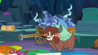 Yona reveals Tree's remains in a wagon S9E3