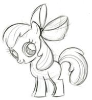180px-Apple Bloom Sketch