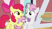 """Apple Bloom """"check the least likely place"""" S9E23"""