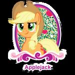 "Applejack's ""Meet the Ponies"" profile image"