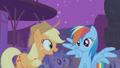 Applejack and Rainbow Dash impressed S1E06.png