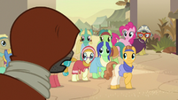 Caballeron speaks out against Daring Do again S7E18