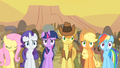 Camera pans as Spike praises Pinkie's song S1E21.png